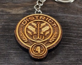 Keychain District 4 of the Hunger games movie