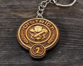 Keychain 2 District of the Hunger games movie