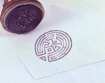 Stamp ink WESTWORLD maze maze