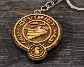 Key ring, District 6 of the Hunger games movie