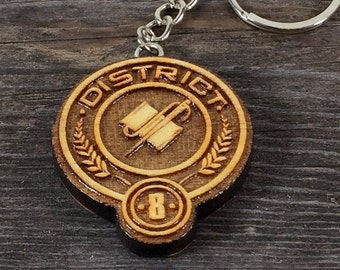 Key ring, District 8 of the Hunger games movie