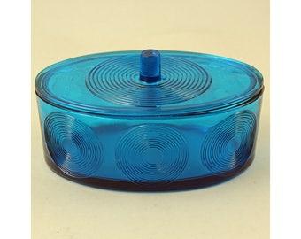 Per Lutken, Holmegaard, Denmark. Skjold Series. 1960's Danish Art Glass