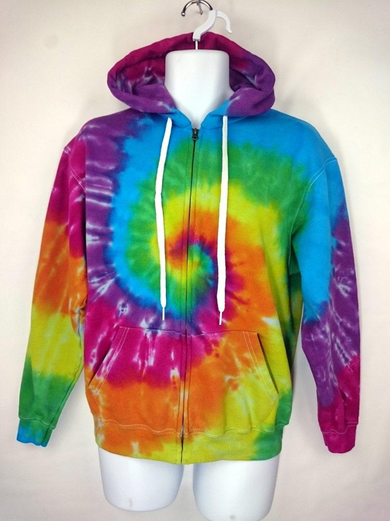 7ee7e4779ee Rainbow Hoodie Tie dye Hoodie Women s Hoodie Tie dye