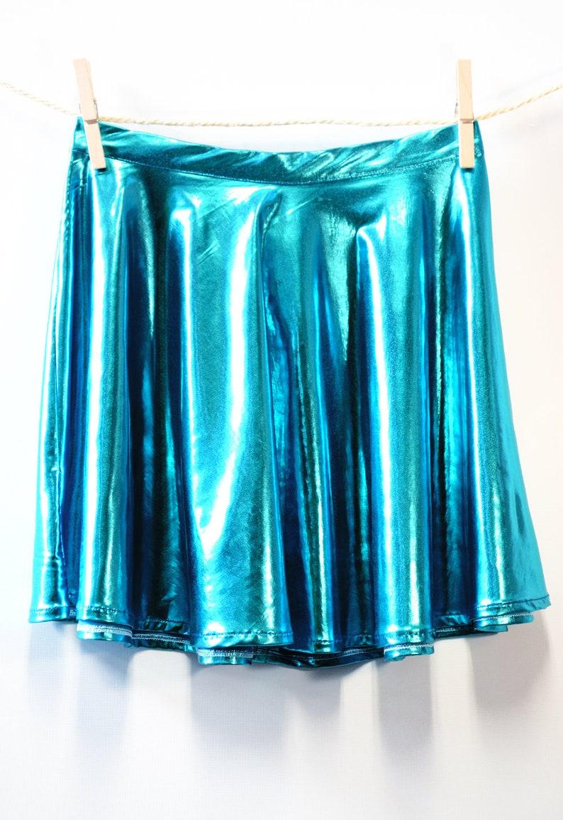 Hardcore Skirt Blue Unicorn image 0