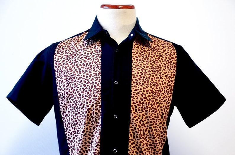 Shirt man Leopard image 0