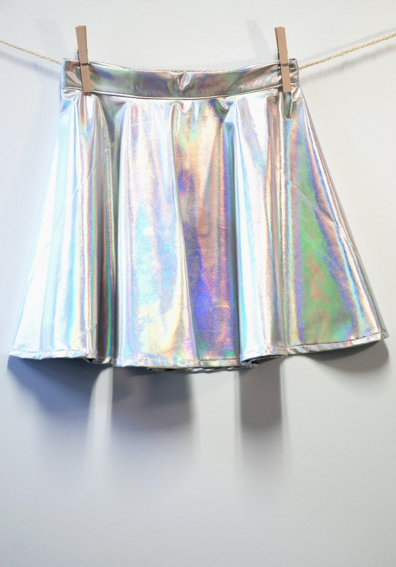 Iridescent Hardcore Skirt image 0