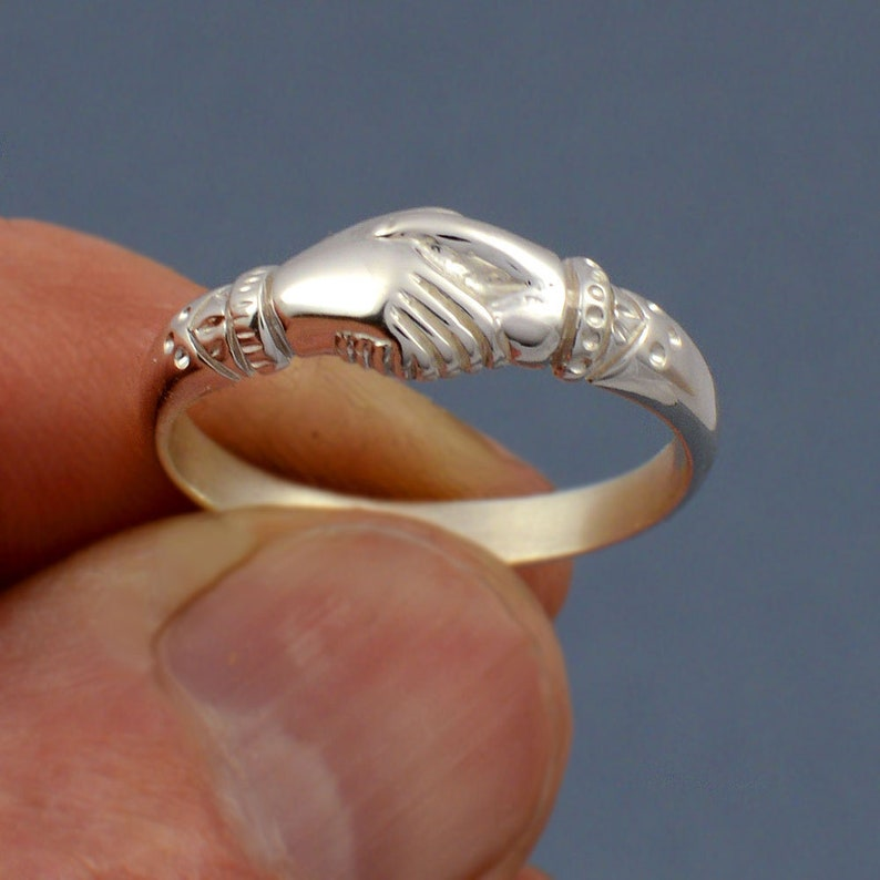 Original Fede Ring a symbol of fidelity and friendship made image 1