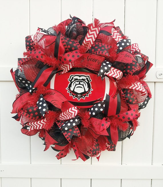 Georgia Bull Dog Wreath