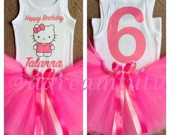 6d9bcefe7 Pretty In Pink Hello Kitty Tutu Combo