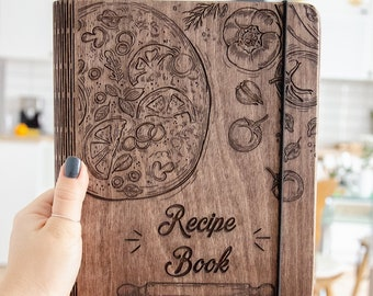 custom recipe book binder bridal shower gift mothers day etsy