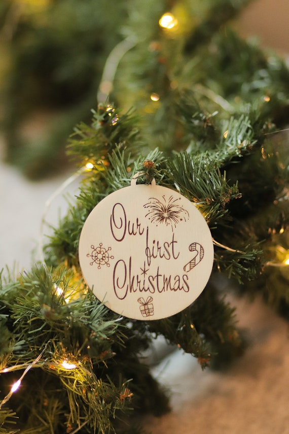 Family Christmas Ornament 1st First Christmas Ornaments   Etsy