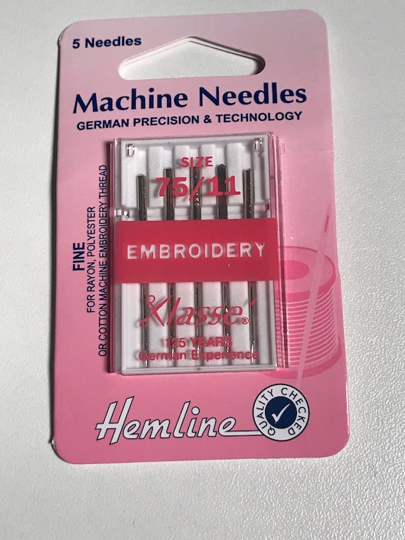 Klasse Sewing Machine Needles 11 STRETCH Size 75 Pack of 5 Needles