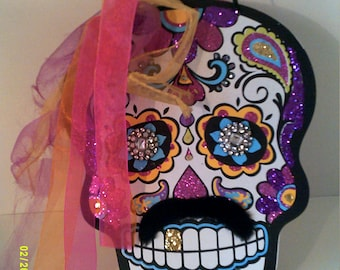 Day Of The Dead Skeleton Wall Art