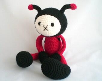 Crochet Ladybird / Amigurumi Ladybird / Crochet Ladybug Plush Toy / Amigurumi Ladybug Plush Toy / Crochet Plush Toy / Ladybird Plush Toy