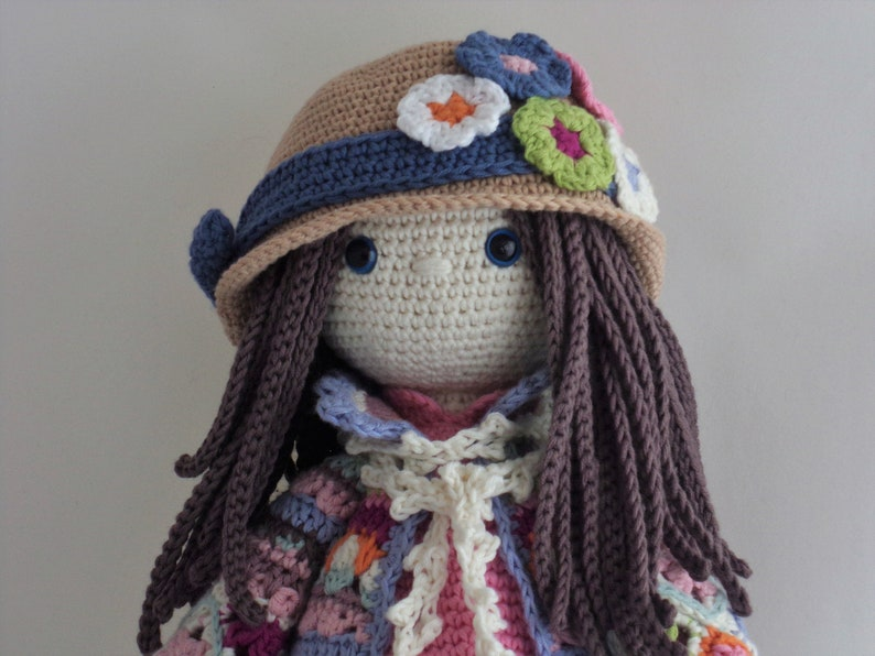 Home Decor Christmas Toy Luxury Collectable Crochet Amigurumi Art Doll Luxury Plush Doll