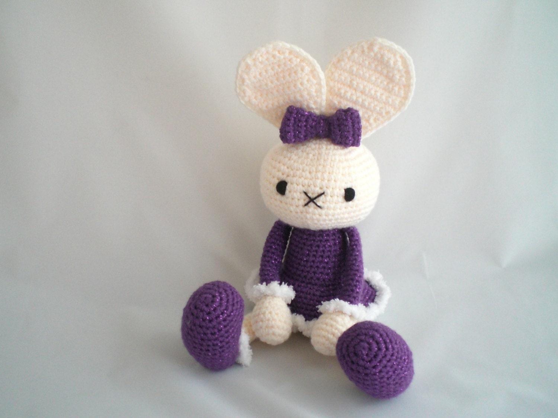 Conejo de ganchillo / Amigurumi Bunny / disquete orejas conejo | Etsy