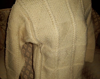 New Ladies hand knitted jumper
