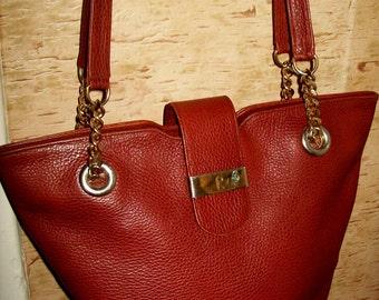 Vintage Richard hand made in Switzerland leather bag