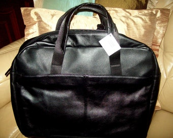 Boccaccio- real leather laptop/travel bag