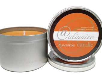 Clementine Culinaire Candle, true clementine, Full 11.5oz soy candle, Gifts for Kitchen, Gifts for Mom, 5.00 Flat Rate Shipping