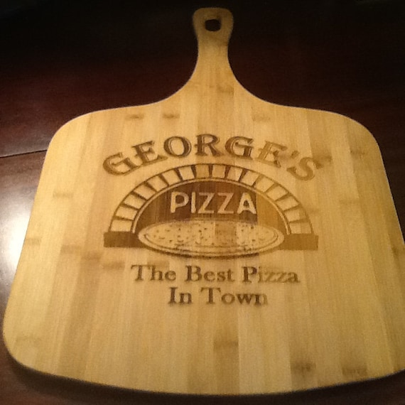 Pizza Peel Wooden Personalize, Engrave, Customize great personal gift