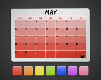 Kühlschrank Kalender : Kühlschrank magnet a d v e n t s k a l e n d e r das haus vom