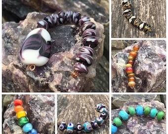 Custom Set of 10 Lampwork Beads