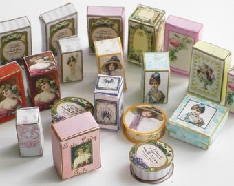 Dolls House Perfume & Beauty Boxes Download