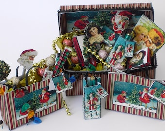 1:12th Scale Miniature - Winter Wonderland Kit File