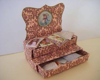 Ladies memory Drawer Box Digital Kit
