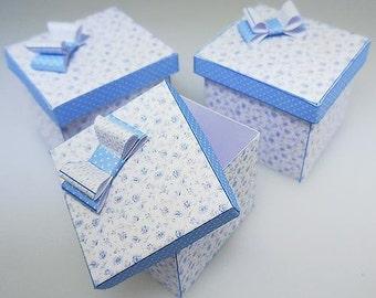 1:12th Scale Miniature Hat Box Trio Kit File