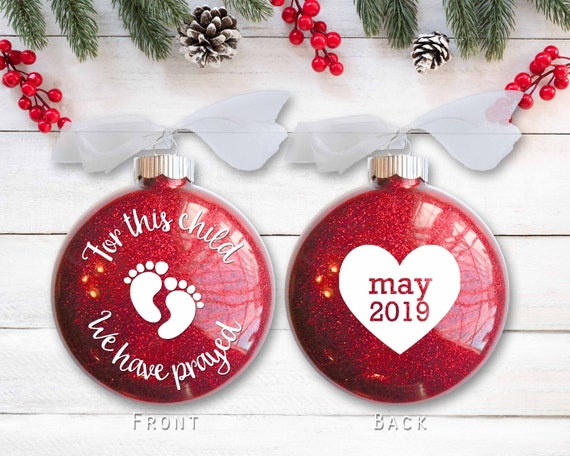 image 0 - Pregnancy Christmas Ornament New Baby Christmas Gift For Etsy