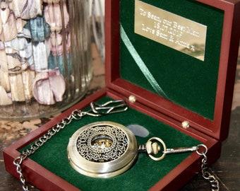 Peaky Blinders pocket watch gift, Peaky Blinders wedding gift, Tommy Shelby - By order of the Peaky Blinders