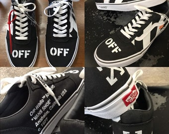 e7f910f9dde Custom Off-White Vans