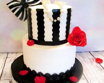5 x arcs verte Comestible Décoration Sucre Pâte Gâteau Cupcake Toppers anniversaire