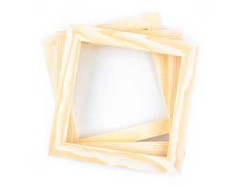 4x4 Bulk Unfinished Wood Frames Wholesale 4x4 Picture Etsy