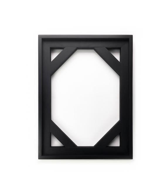 Matte Black Canvas Floater Frame Custom Frame for Canvas | Etsy
