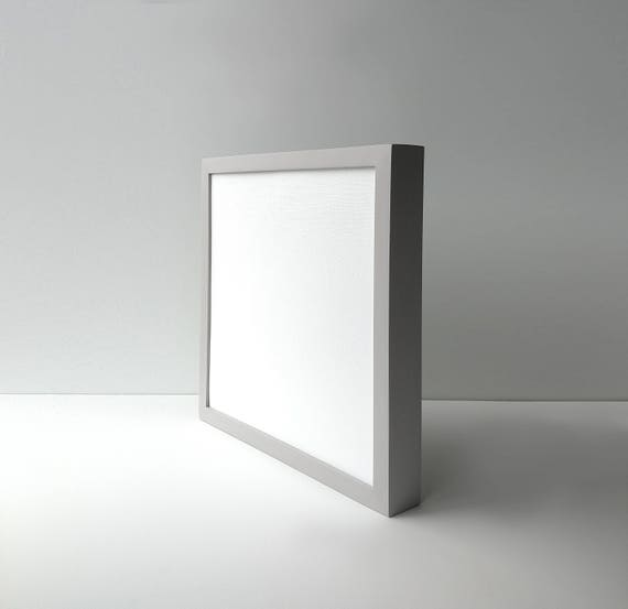 Custom Canvas Frame Cloud Gray Back Loading Frame Wood | Etsy