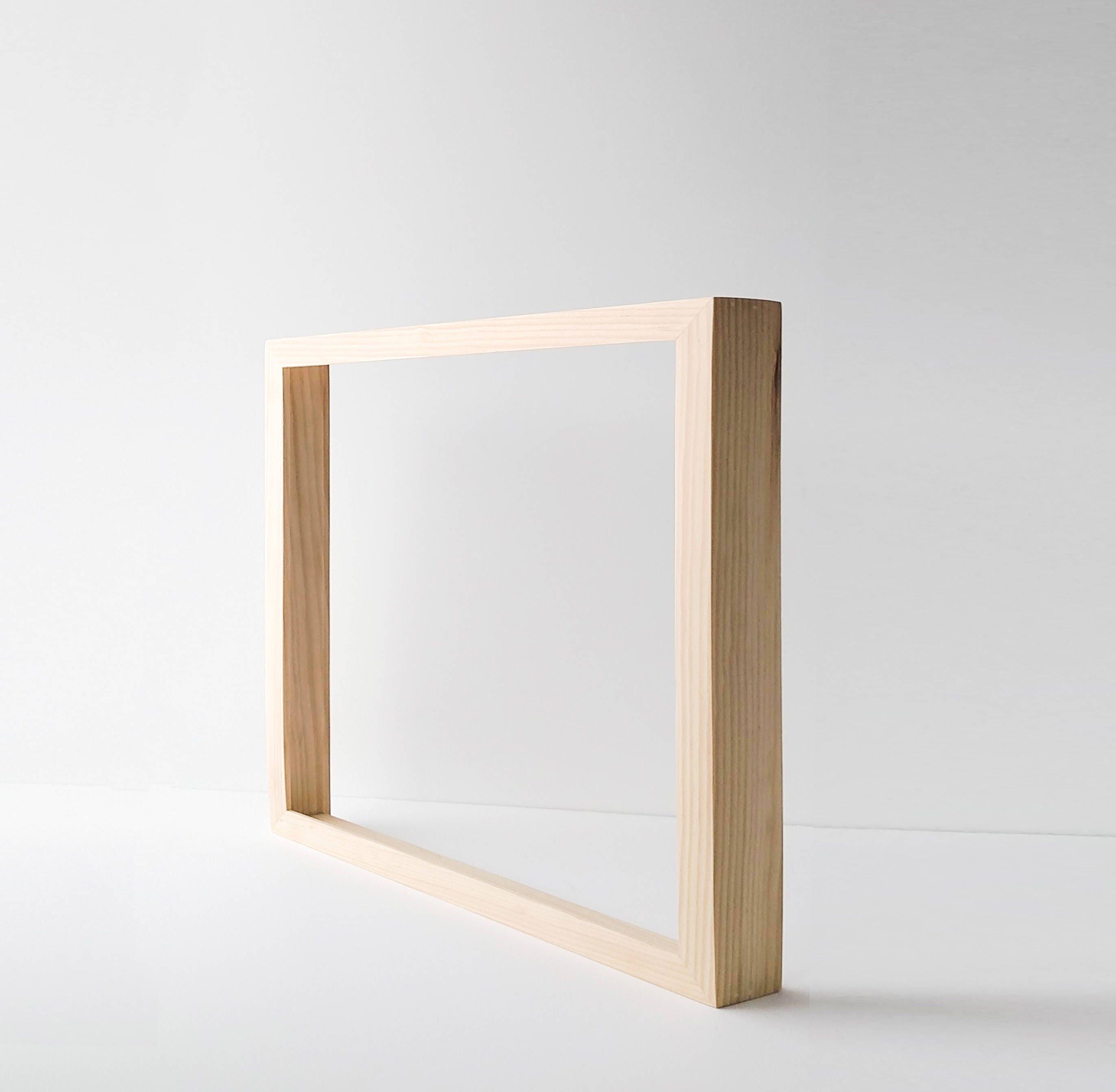 Custom Canvas Frame - Unfinished Wood Canvas Frame- Wood Frame for ...