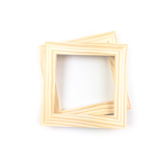 6x6 Bulk Unfinished Wood Frames - - 6x6 Picture Frames - Wholesale ...