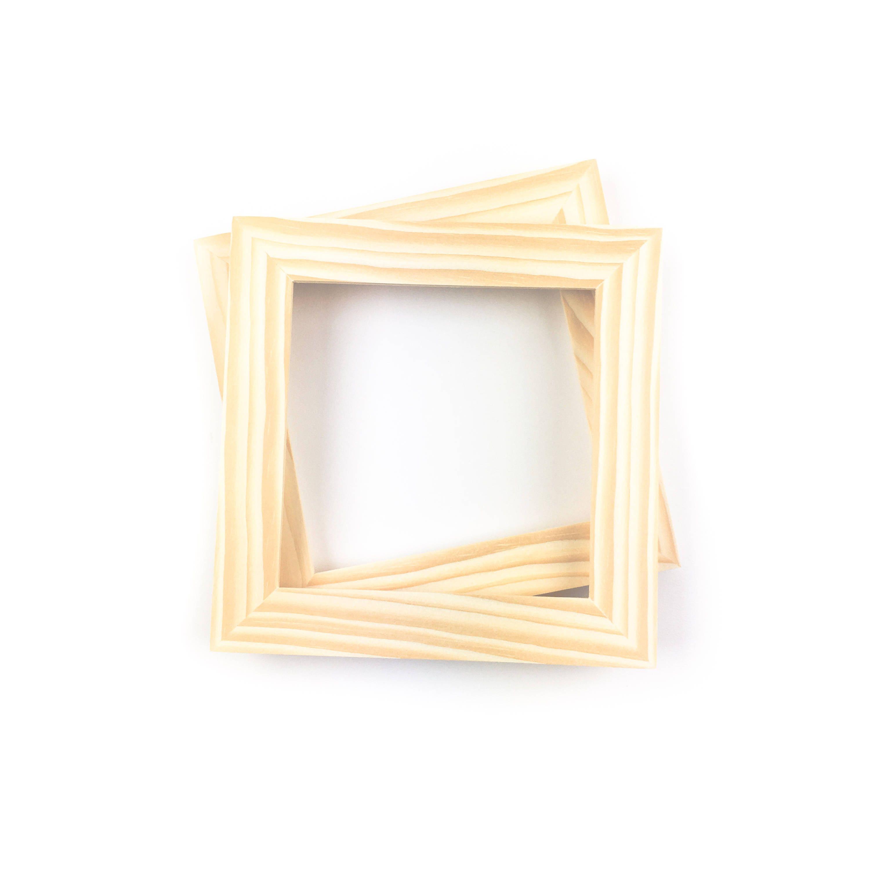 6x6 Bulk Unfinished Wood Frames - - 6x6 Picture Frames - Wholesale ...