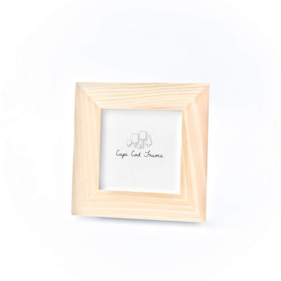 Unfinished Wood Frame 4x4 Picture Frames Unfinished Frames | Etsy