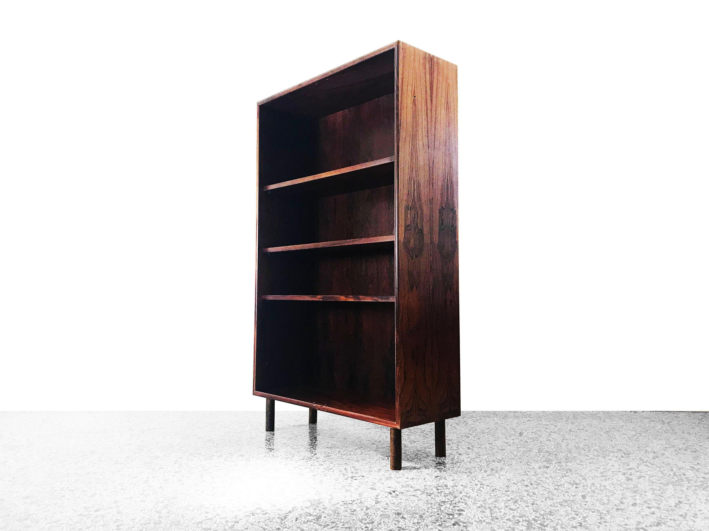 Danish Modern Rosewood Bookcase