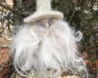 Naald vilten Gnome, sneeuw-Gnome