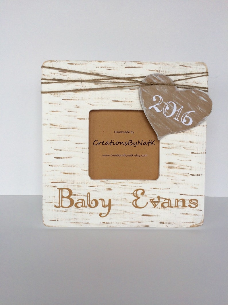 Ultrasound Frame Custom Baby Shower gift Pregnancy Announcement Personalized Photo Frame