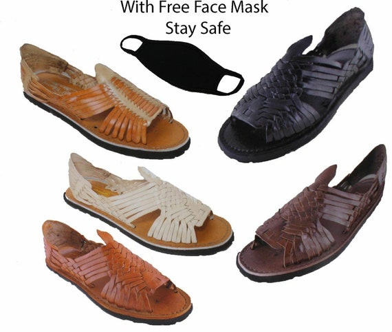 Mexican leather Huarache sandals