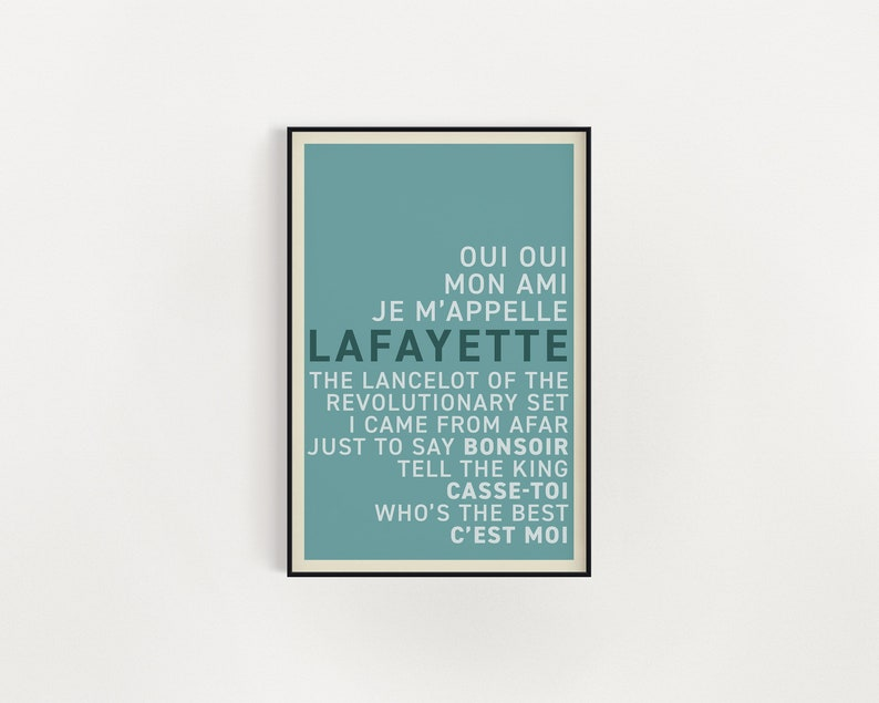 Quotes All Sizes Wall Art Lyrics Hamilton Broadway Musical Poster Poster