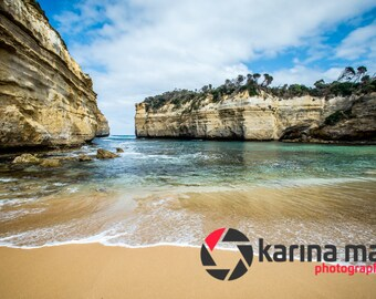 Loch Ard Gorge on The Great Ocean Road, Australia, Coastal Scenery, Home Decor, Wall Art