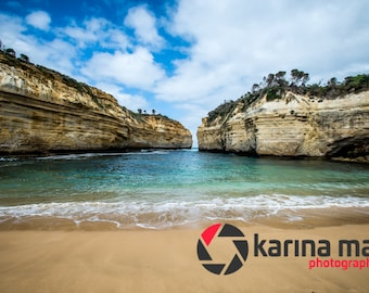 Coastal Cliffs, Loch Ard Gorge on The Great Ocean Road, Victoria, Australia, Home Decor, Wall Art