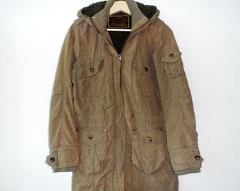 babd295d036c9a Vintage Type Airforce 07 Flight Jacket Parka WW2 WWII Buzz Rickson rrl Real  Mccoy Army Military Olive Drab Large Size